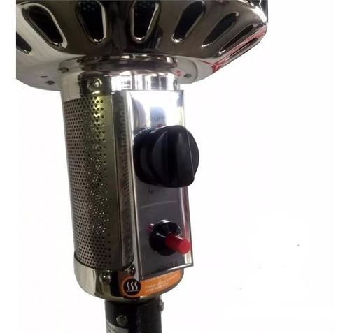 calefactor exterior hongo estufa gas jk1009 mesa rueda cuota