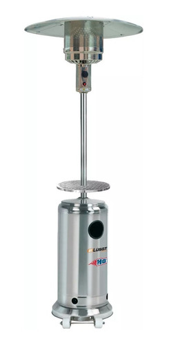 calefactor exterior hongo estufa gas mesa ruedas ratan