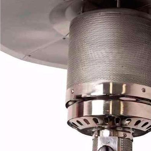 calefactor exterior  lusqtoff acero inoxidable