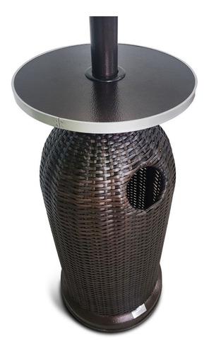 calefactor exterior  lusqtoff mimbre