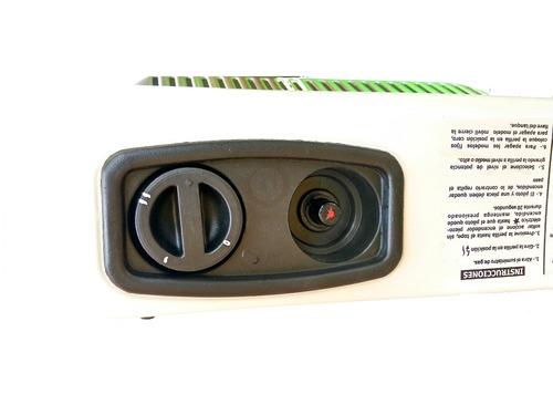 calefactor fijo de gas natural 2 placas infrarrojo envío gra