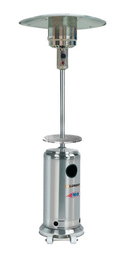 calefactor hongo exterior acero mesa de apoyo (no envios)