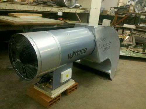 calefactor industrial cañon calefactor vortice 35000k.cal/hr
