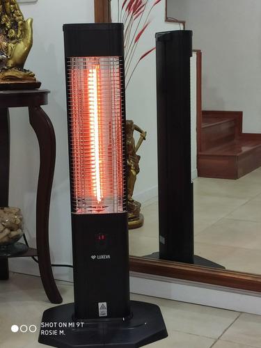 calefactor infrarrojo/calefactor eléctrico