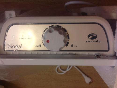calefactor / ionizador eléctrico bajo consumo pabst con