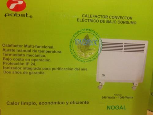 calefactor / ionizador eléctrico bajo consumo pabst sec