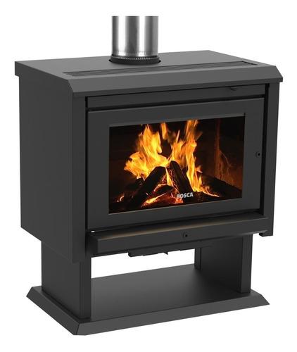 calefactor leña bosca gold 800 doble combustion pot. 13 kw
