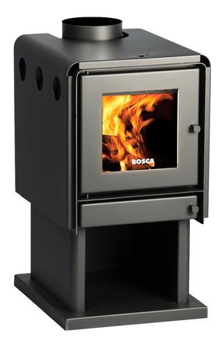 calefactor leña bosca limit 360 doble combustion pot. 8.7 kw