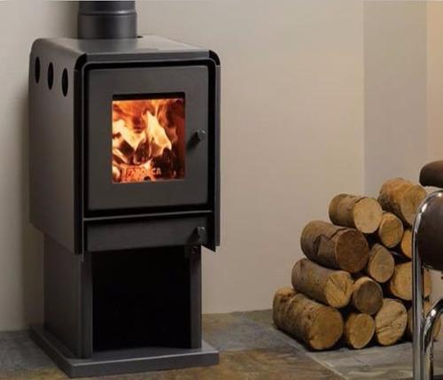 calefactor leña bosca limit 450 + kit chimenea 4m, pot 14 kw
