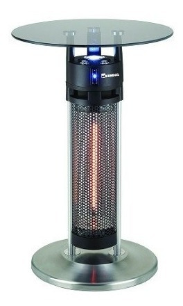 calefactor / mesa para exteriores fibra de carbono kendal