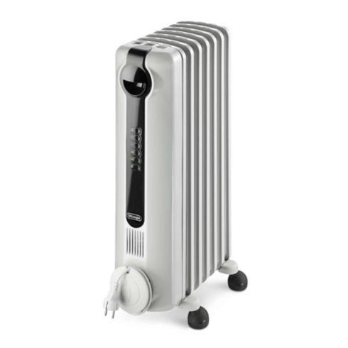 calefactor oleoeléctrico blanco para los hogares         hc.