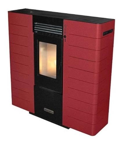calefactor pellet de madera pot: 6.5 kw, alta eficiencia