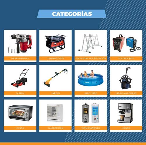 calefactor portatil cañon caloventor gasoil 34.100 kcal.