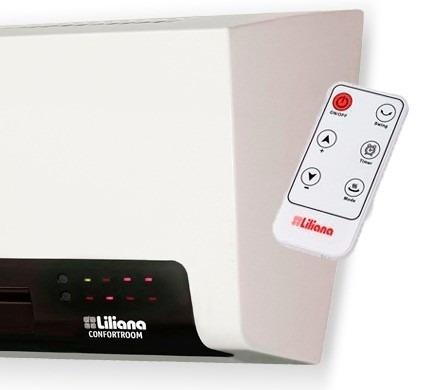 calefactor split liliana caloventor cw800 contr remoto envio