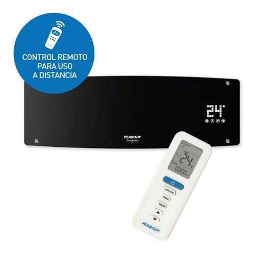 calefactor split peabody pe-cv20 c/remoto digital touch