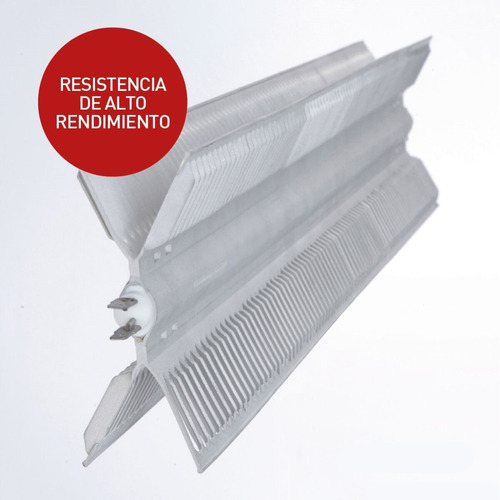 calefactor vitroconvector peabody pe-vc20 2000w blanco
