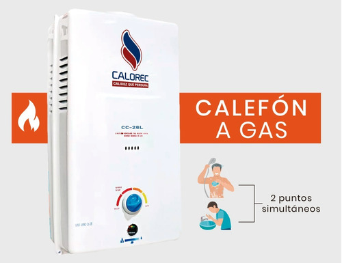 calefon a gas en quito / calorec igual a calefon instamatic