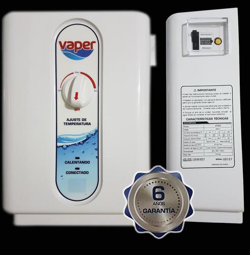 calefón eléctrico / 6 años de garantia! instalado!