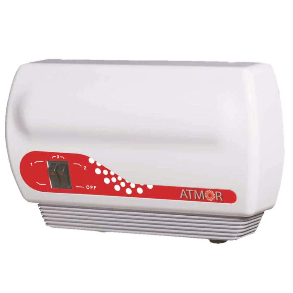Calefon Eléctrico Atmor Inline Duo 7.5 Kw Para Baño Y Cocina ...