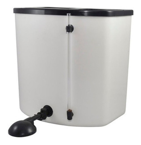 calefon electrico indelplas plastico 20l - aj hogar