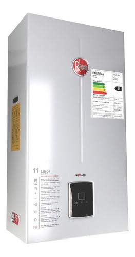 calefon gas natural 11 litros tiro natural rheem ionizado