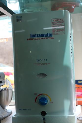 calefón instamatic jumbo 20 litros a gas