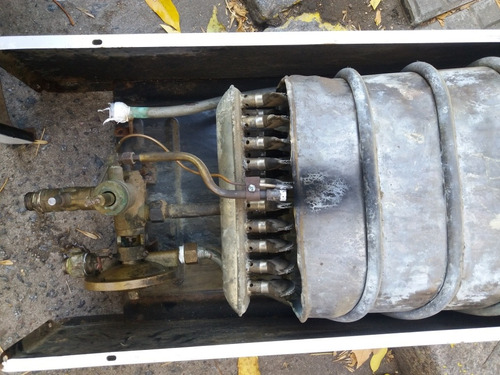 calefon usado flemax de 14 litros a gas natural