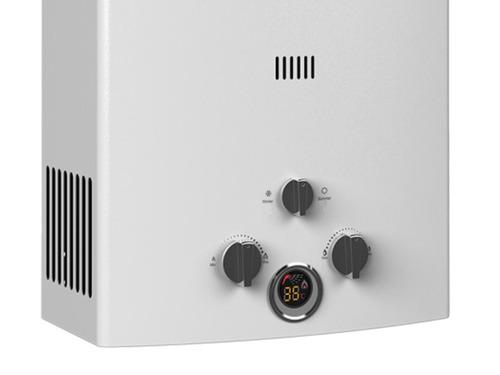 calefones calentadores a gas instantáneo enxuta 10 lts fama