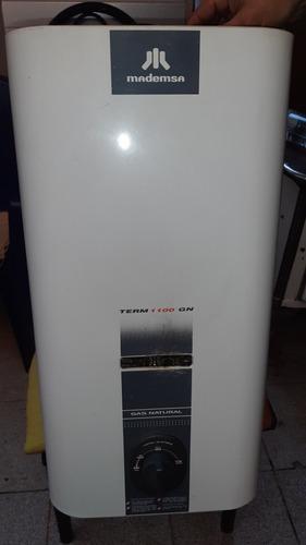 calefont mademsa term 11 litros  gas natural