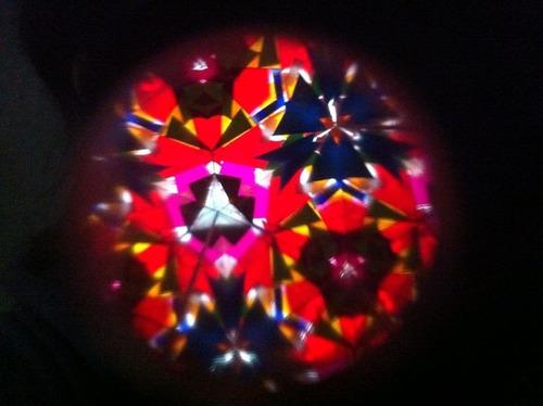 caleidoscopio de carton/forrado imagen cortada 20pzs