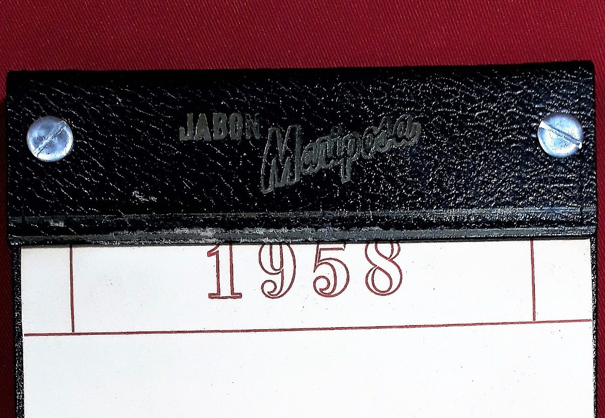 Calendario 1958.Calendario 1958 Vintage Antiguo De Escritorio 60anos 2018