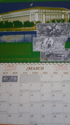 calendario 1979 the minters printers, fotos