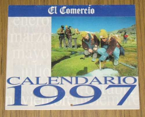 calendario 1997 el comercio de colección fotos full color