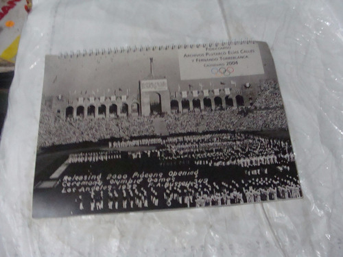 calendario 2004,olimpiadas ,  archivo plutarco elias calles