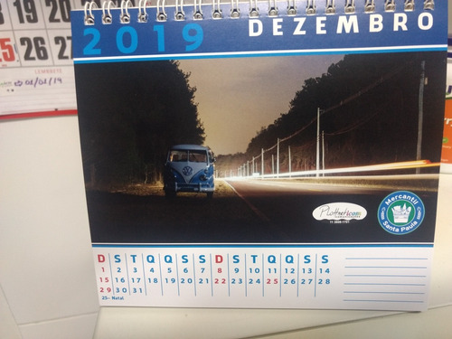 calendario 2019 do sampa kombi clube