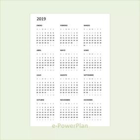Calendario 2020 Argentina Para Imprimir Pdf.Calendario 2019 Pdf A6 Para Imprimir