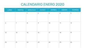 Calendario Loteria Nacional 2020.Calendario 2020 Para Imprimir