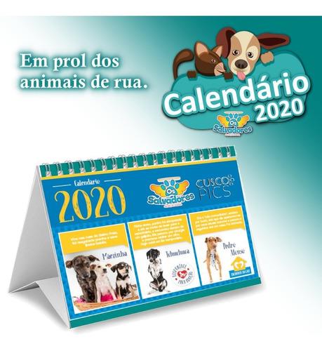 calendário 2020 salvadores