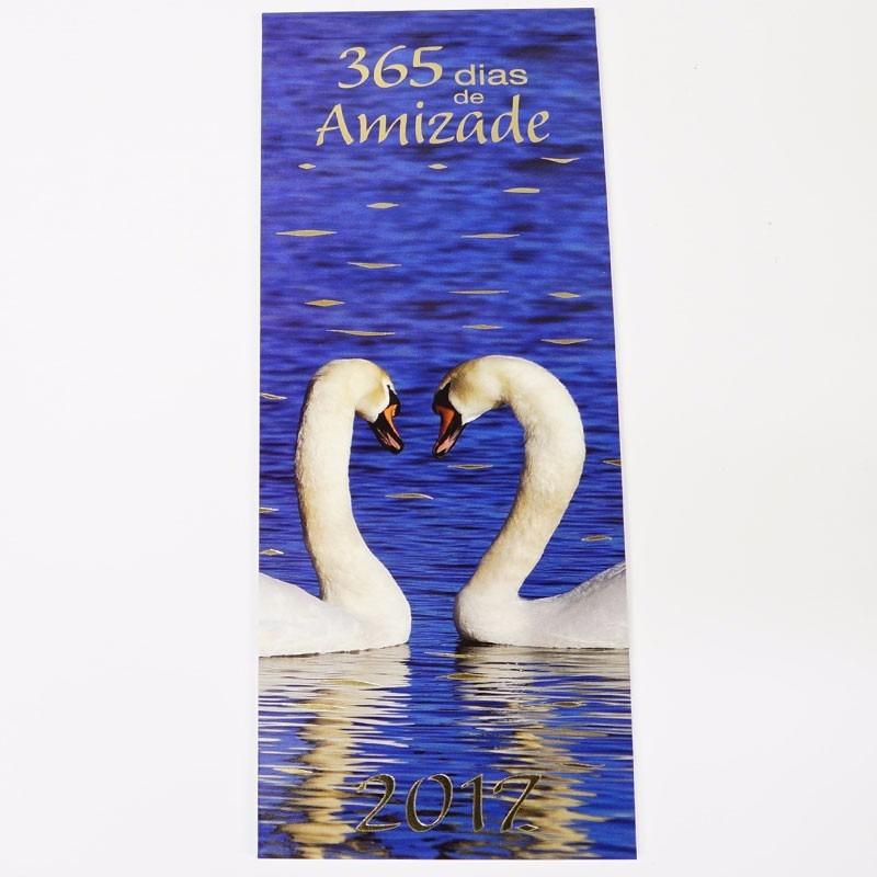 Calendario 365.Calendario 365 Dias Com Amizade 2017 21x7cm