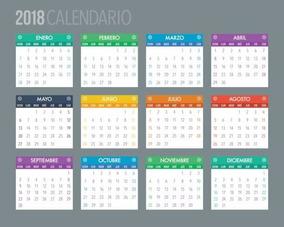 Calendario Din A4.Calendario Almanaque 2018 A4 300g Full Color X 100 Diseno