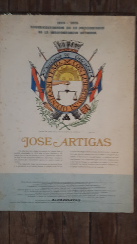 calendario artigas alpargatas 1975, fotos