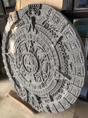calendario azteca cantera natural