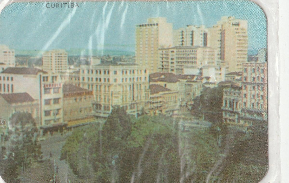 Calendario F2.Calendario Bolso 1974 Imagem Cidade De Curitiba F2