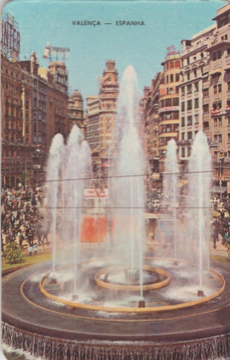 Calendario F2.Calendario Bolso 1974 Imagem Valenca Espanha F2