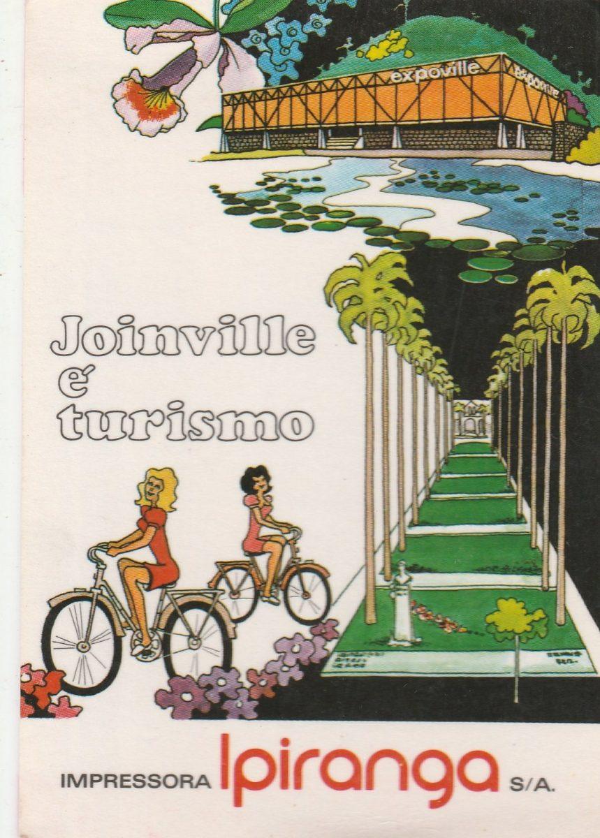 Calendario F2.Calendario Bolso 1974 Joinville E Turismo F2