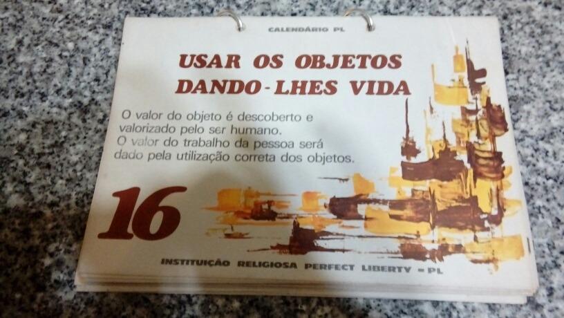 Calendario De 1978.Calendario Brasileno Vida Y Arte De 1978 120 00