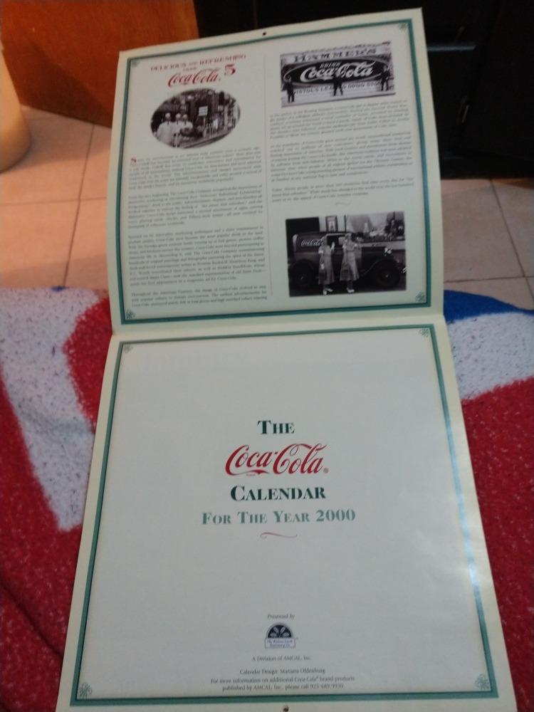 Calendario Del 2000.Calendario Coca Cola Del 2000