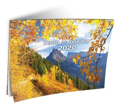 calendario cristiano todo es posible 2020 rvr 1960 x100 u.