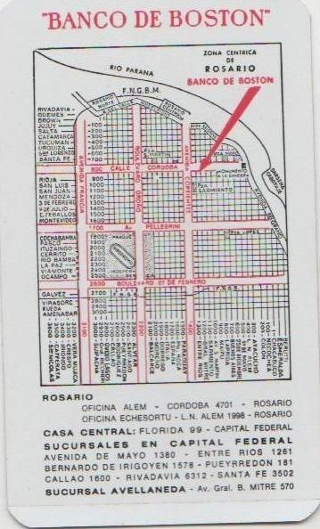 Calendario 1976 Argentina.Calendario De Bolso Banco De Boston Argentina 1976 Cn