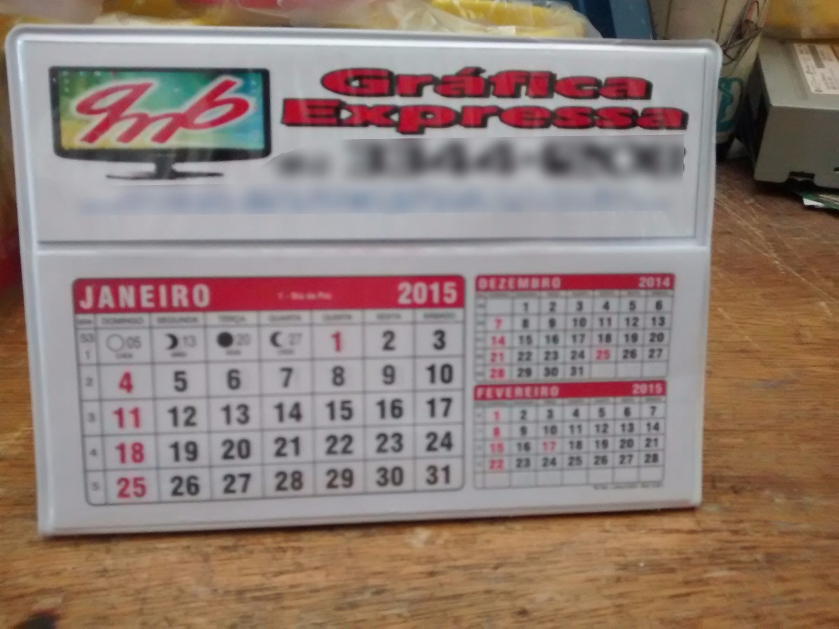 d32cac94e calendário de mesa em pvc 2018. Carregando zoom.